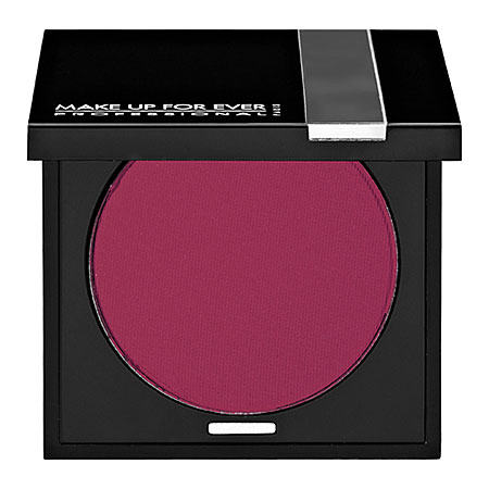 Makeup  on Make Up For Ever Powder Blush In Dark Raspberry 58 Vibrant Matte