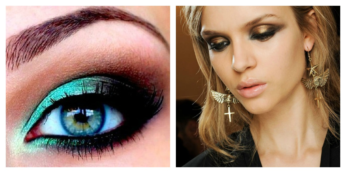 Teal Smokey Eye Makeup Gallery Free Eye Makeup Eyebrow Eyelease Ideas