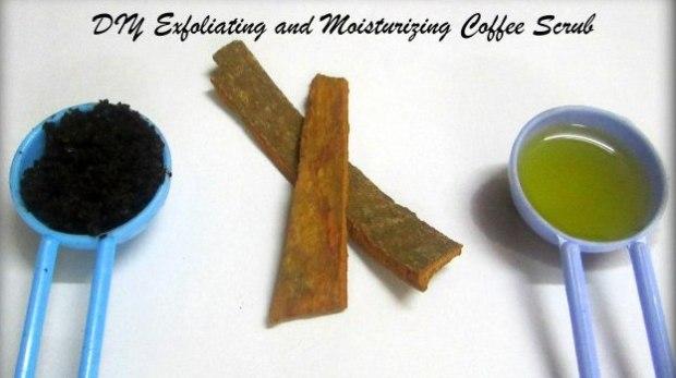 DIY Exfoliating and Moisturizing Coffee Scrub