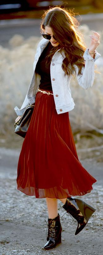 Street style as found on Pinterest