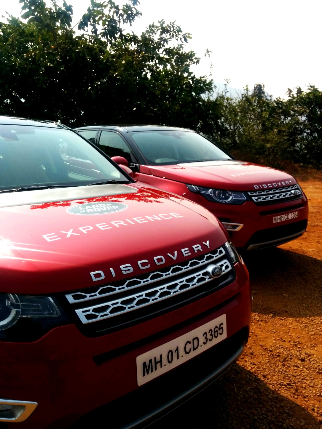 The Land Rover Discovery