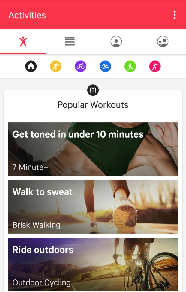 Moov Now - You can choose your workout