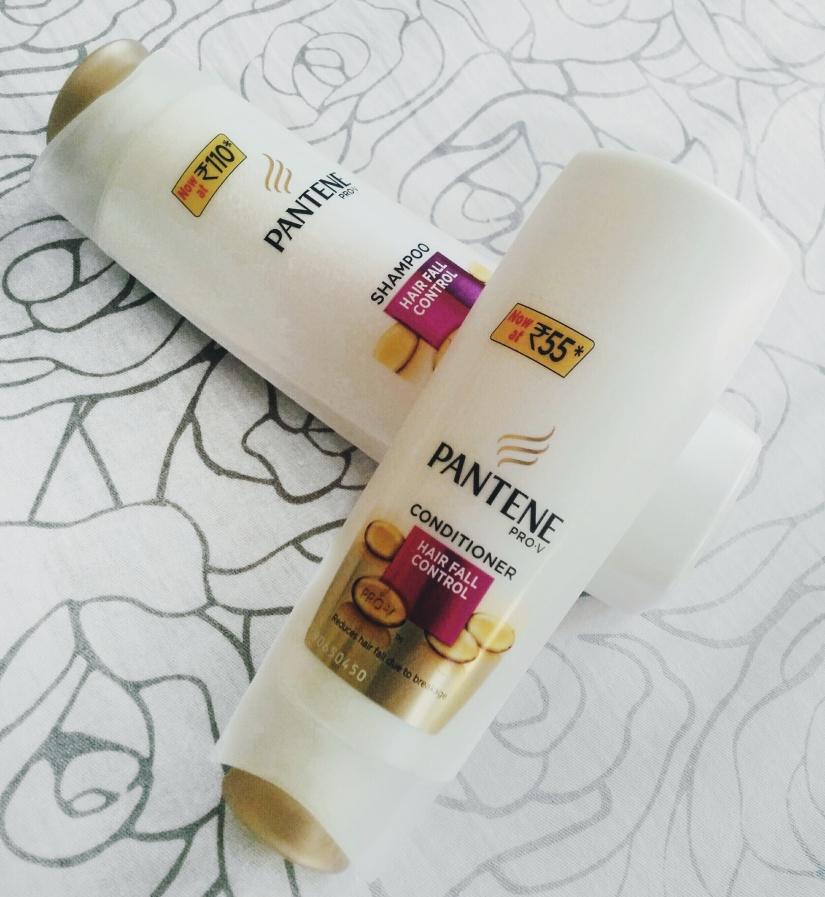 NEW Pantene Pro-V Hair Fall Control Shampoo, Conditioner