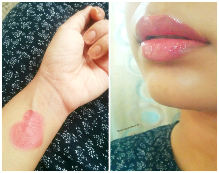 THE BODY SHOP COLOUR CRUSH SHINE LIPSTICKS SWATCHES