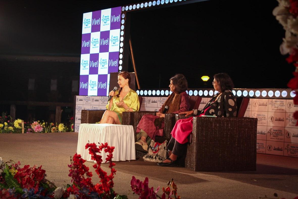 Ashley Judd, in conversation with Sagarika Ghose and Ruchira Gupta