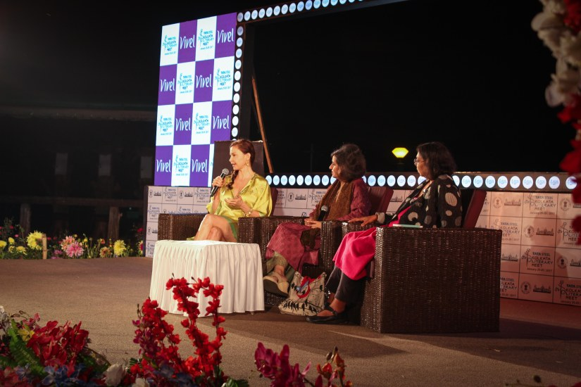 Ashley Judd, in conversation with Sagarika Ghose and Ruchira Gupta