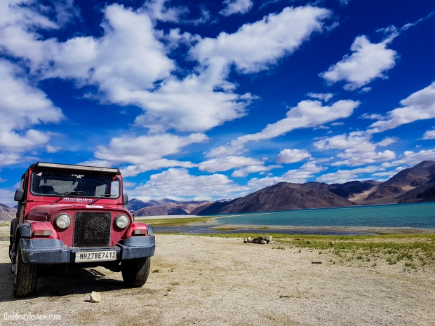 The mighty Thar at Pangong Tso