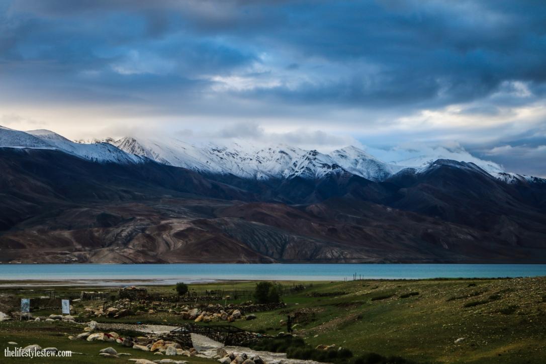 Breathtaking views at Tso Moriri