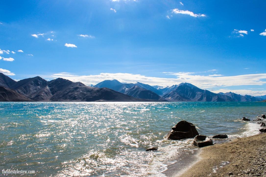 The mystical Pangong Tso, Ladakh