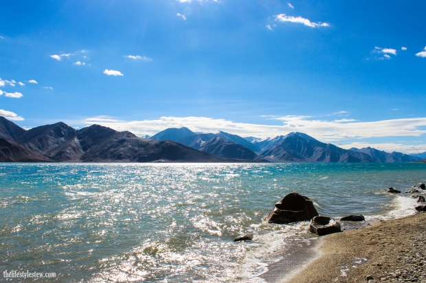 The mystical Pangong Tso, Ladakh