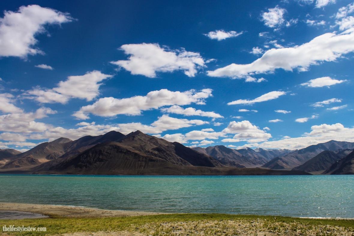 The magical blues of Pangong Lake