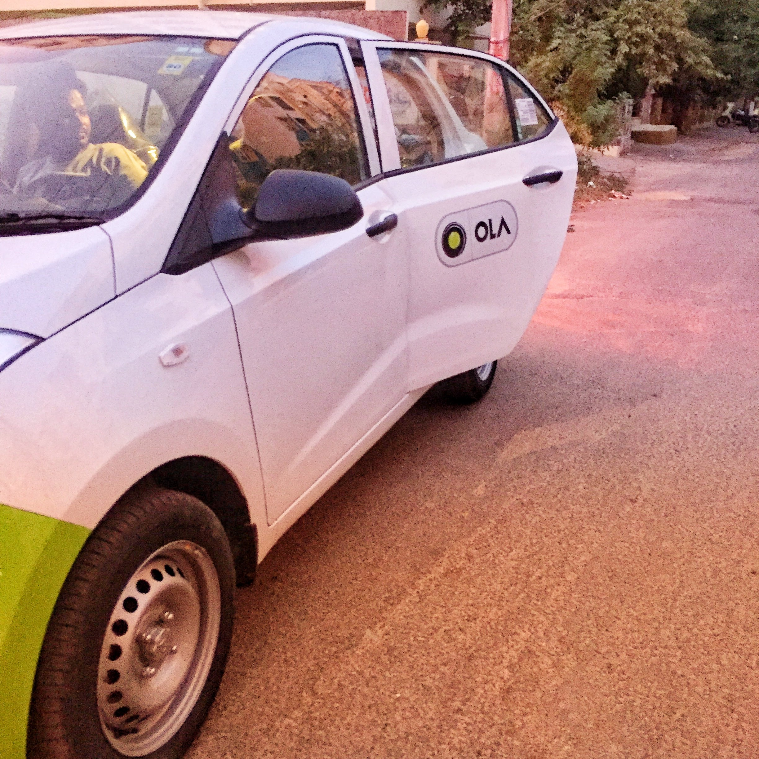 My Ola Rental Cab!